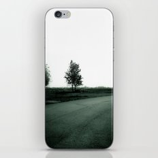 Blurry Trees iPhone & iPod Skin