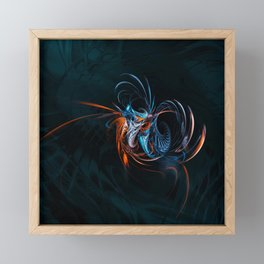 Oollocale. Fractal Fantasy Framed Mini Art Print