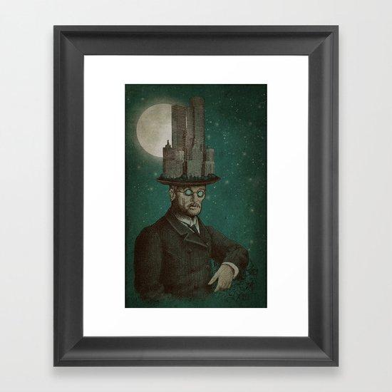 The Architect (colour option) Framed Art Print