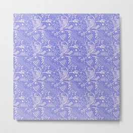 Secret Garden Lilac Metal Print