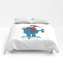 Season's Greetings Comforters