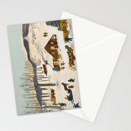 Anna Mary Robertson 'Grandma' Moses Sugaring Off American Folk Art Stationery Cards