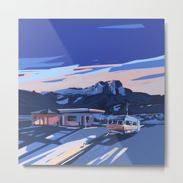 american landscape 3 Metal Print
