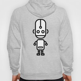 Cartoon Boy Droid Hoody
