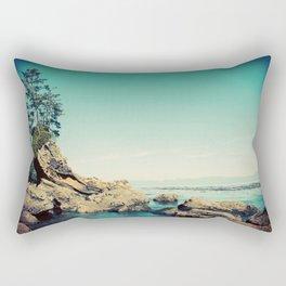 Secret Beach Rectangular Pillow
