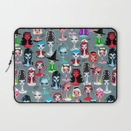 Spooky Dolls Laptop Sleeve