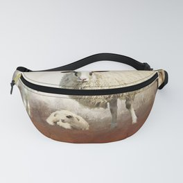 Twin Lambs Moon Rise Fanny Pack