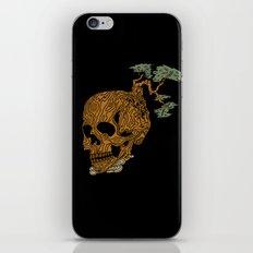 Timber Skull iPhone & iPod Skin