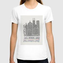 Chicago Cityscape T-shirt