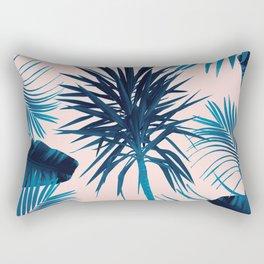 Tropical Cali Summer Vibes Leaves Mix #1 #tropical #decor #art #society6 Rectangular Pillow
