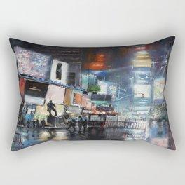 Nights on Broadway Rectangular Pillow