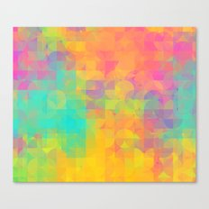 Light and Geometry Canvas Print