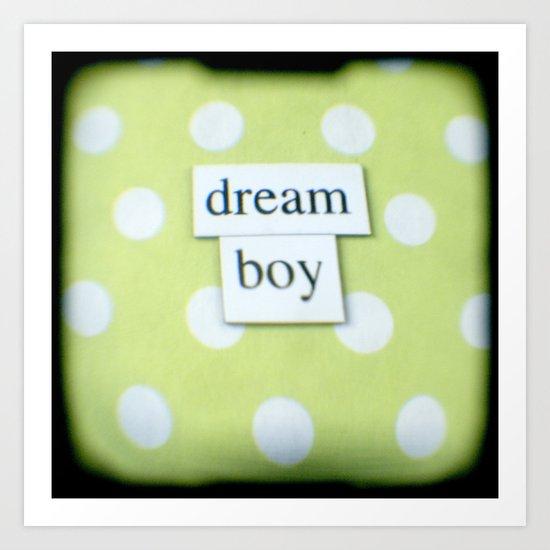 Dream boy Art Print