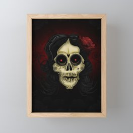 Day Of The Dead Framed Mini Art Print