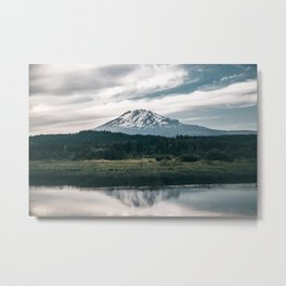 Mount Adams Reflections Metal Print