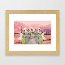 Desert Femme Framed Art Print