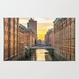 The Speicherstadt (Hamburg, Germany) Rug