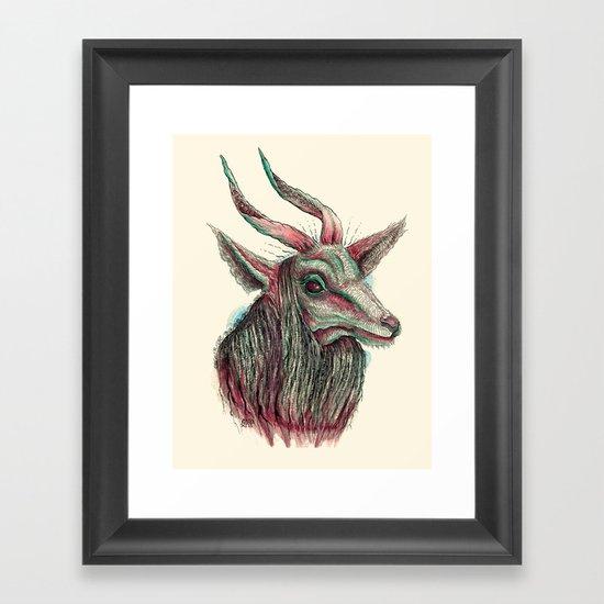 Ovis Framed Art Print