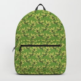 Garden Herb Repeating Pattern  Backpack