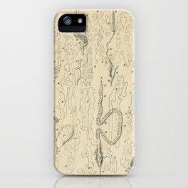 Microscopic Biology iPhone Case