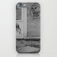 Death's newspaper booth Slim Case iPhone 6s