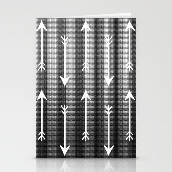 Arrow Sketch Stationery Cards