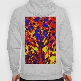Fire Tree Pop Art Hoody