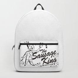 Abe Froman, Sausage King Of Chicago, Vintage 1986 T Shirt, Original Retro Design Backpack