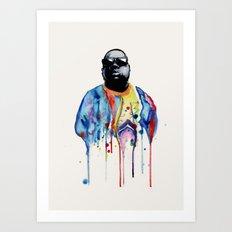 Born Sinner  Art Print