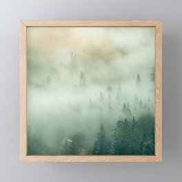 The Mist Framed Mini Art Print