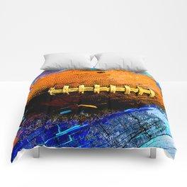 Football ball vs 2 Comforters