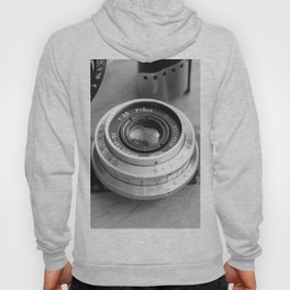 Accessories from old film cameras. Hoody