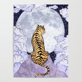 Tiger Moon | Colour Version Poster