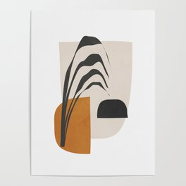 Abstract Shapes 3 Poster