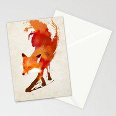 Vulpes vulpes Stationery Cards