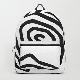 Tribal Print B&W- 06 Backpack