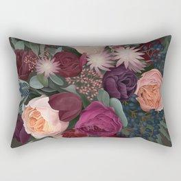 Dark florals Rectangular Pillow