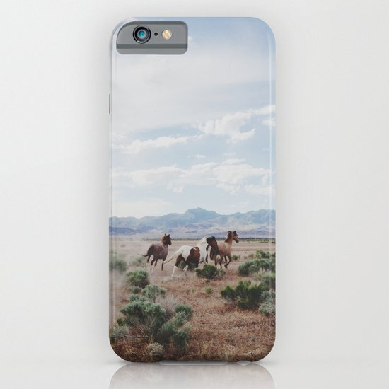 Running Horses iPhone & iPod Case