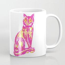 Cute over skeleton cat Coffee Mug