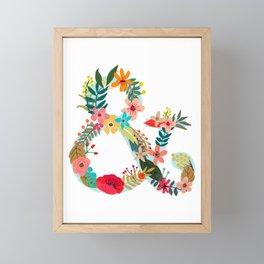 & Union And Link Monogram Framed Mini Art Print