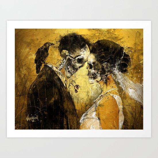 'Til Death do us part Art Print
