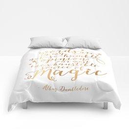 Dumbledore's Magic Words Comforters