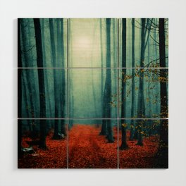 Landscape (colour option) Wood Wall Art