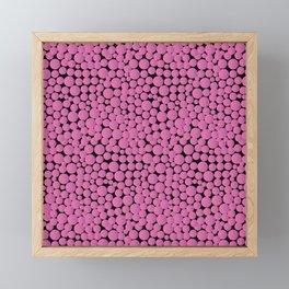 Pink Bubblegumballs! Framed Mini Art Print
