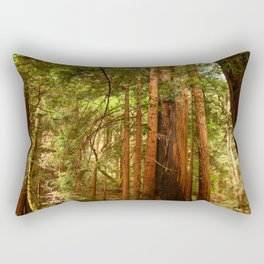 Muir Woods Walkway Rectangular Pillow