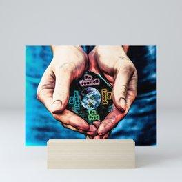 Advent Guard Earth Heart Mini Art Print