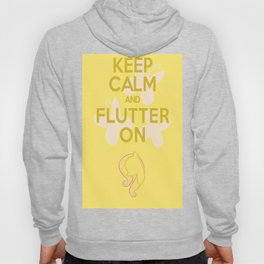 Keep Calm and Flutter On (MLP FIM) Hoody