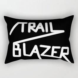 Trailblazer B&W Rectangular Pillow