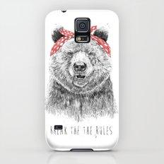 Break the rules Galaxy S5 Slim Case