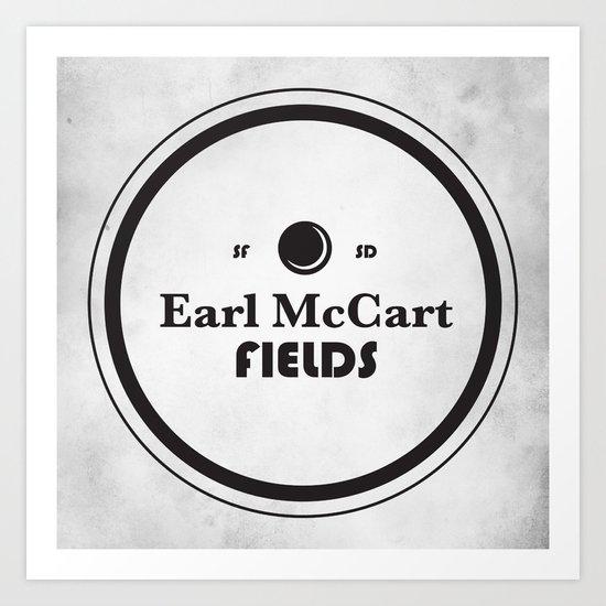 Earl McCart Fields Art Print